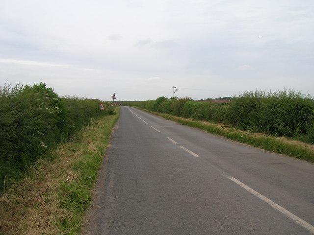 Minor road towards Newton