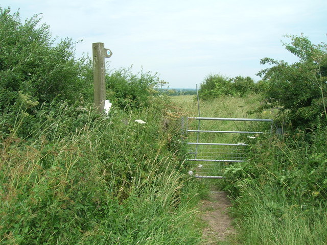 Trent Valley Way footpath
