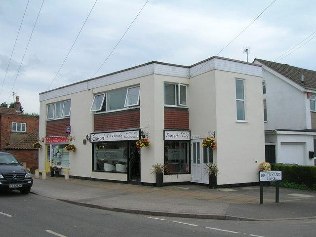 Shops on Main Street, East Bridgford