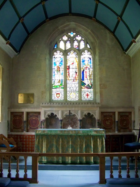Interior, The Church of St Mary and St James