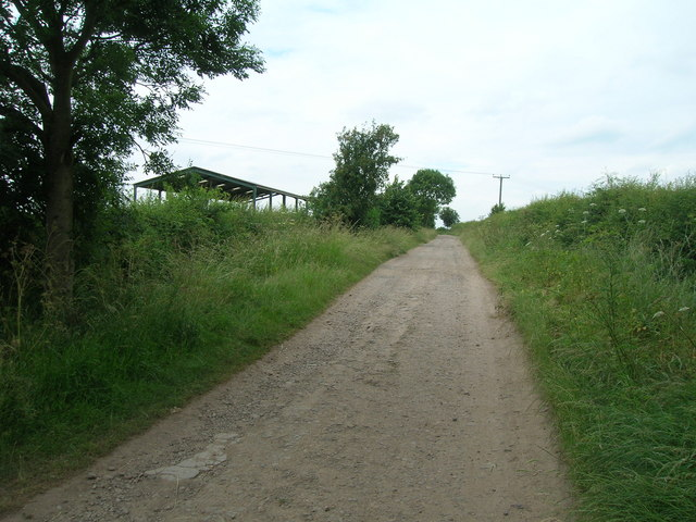 Bridleway towards the River Trent