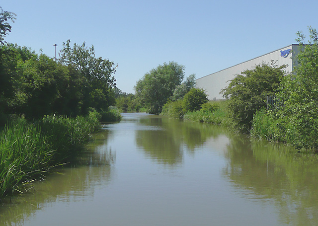 The Ashby Canal west of Hinckley, Leicestershire