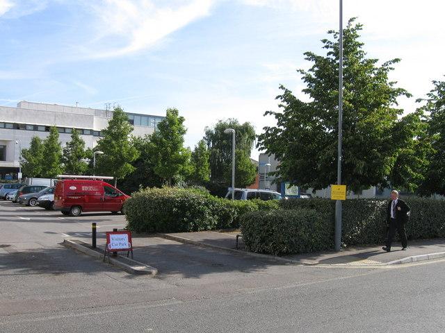 Car park off Salisbury Road, Southampton University