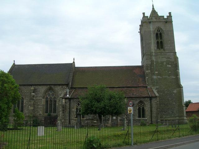 St Mary's Church, Car Colston