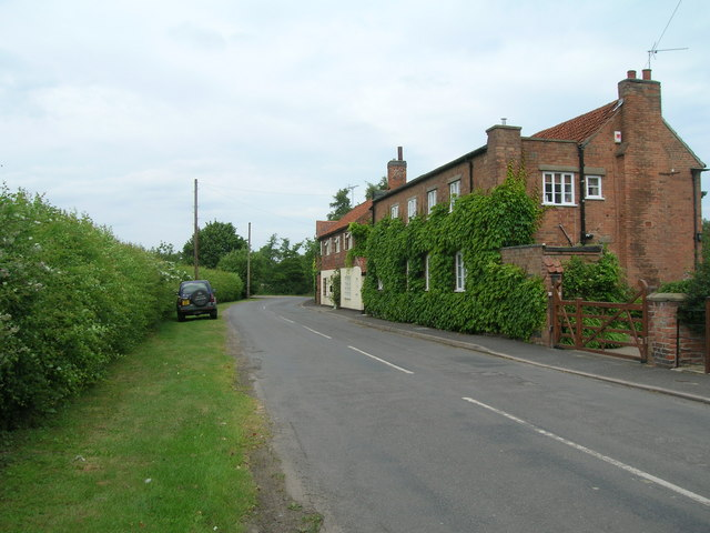Minor road towards Screveton