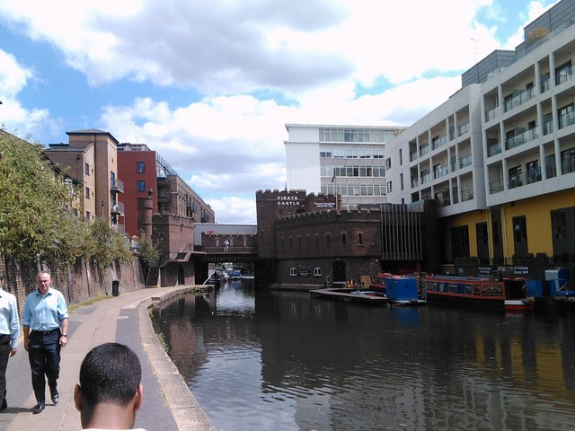 Pirate Castle, Oval Road, Camden, viewed from the Regent's Canal