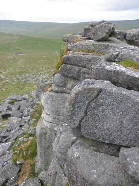 View from the top of Higher Tor