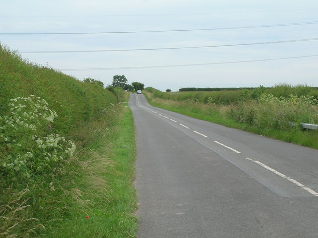 Minor road towards Scarrington