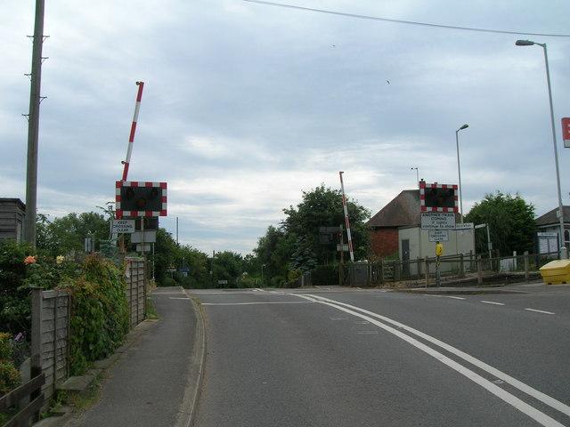 Level crossing, Main Street, Aslockton