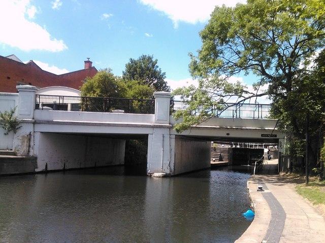 Kentish Town Road bridge over the Regent's Canal