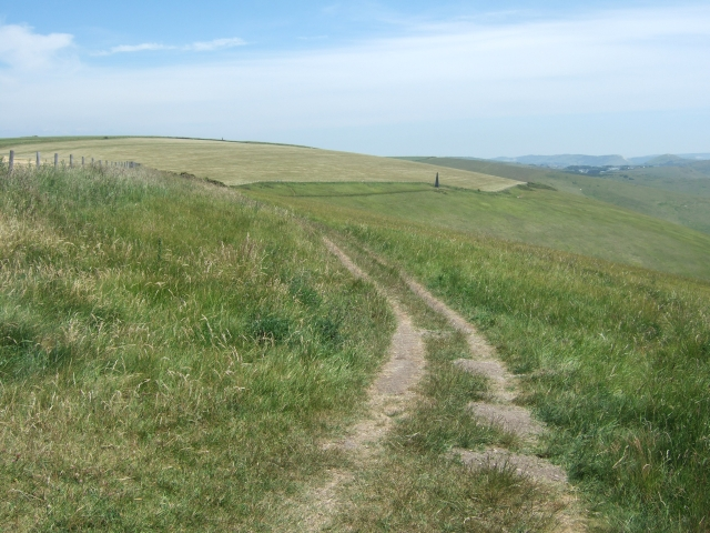 South West Coast Path in West Bottom