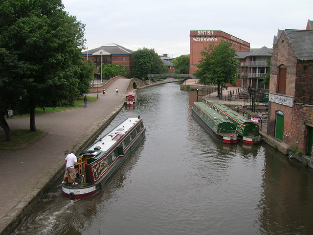 Nottingham Canal looking west