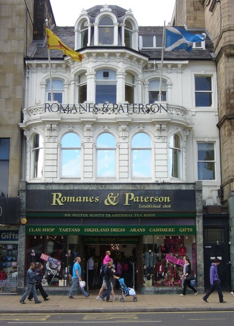 Romanes & Paterson, Princes Street