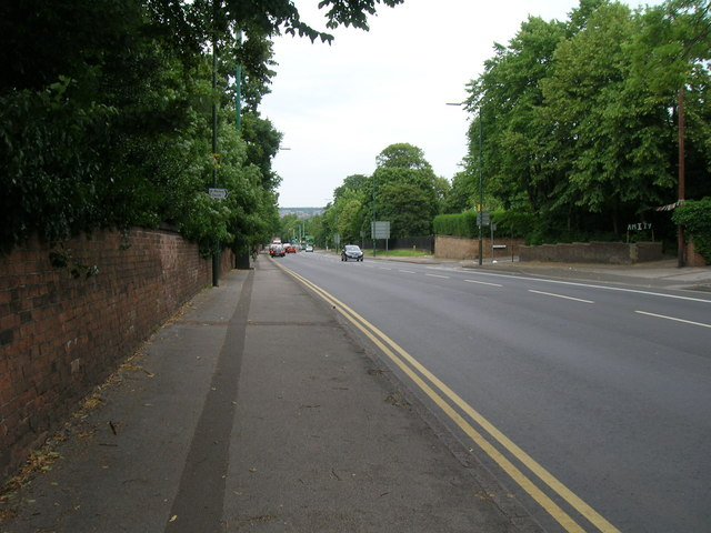 Mansfield Road, Nottingham (A60)