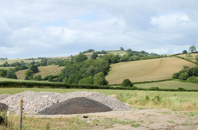 2010 : Enough of standing stones here is a heap of gravel