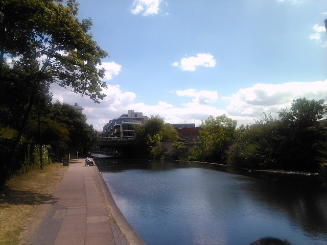 St Pancras Way bridge on the Regent's Canal