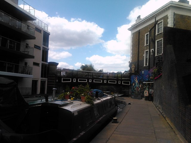 St Pancras Way bridge on the Regent's Canal #2