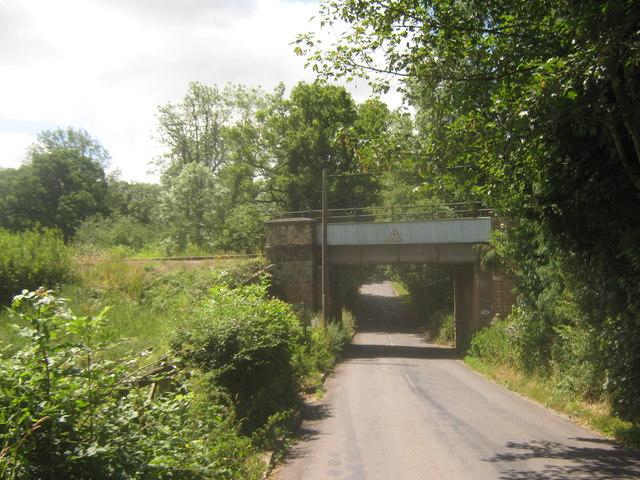 Railway bridge over Blower's Hill