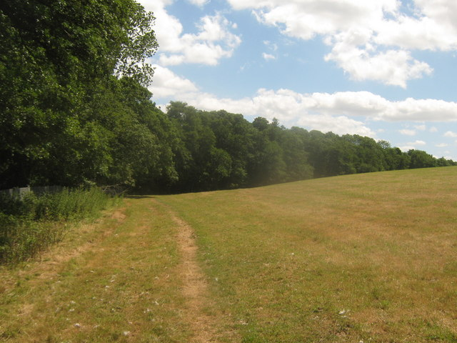 Footpath towards Moat Lane