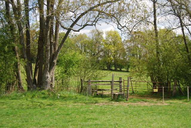 Stile on the Sussex Border Path