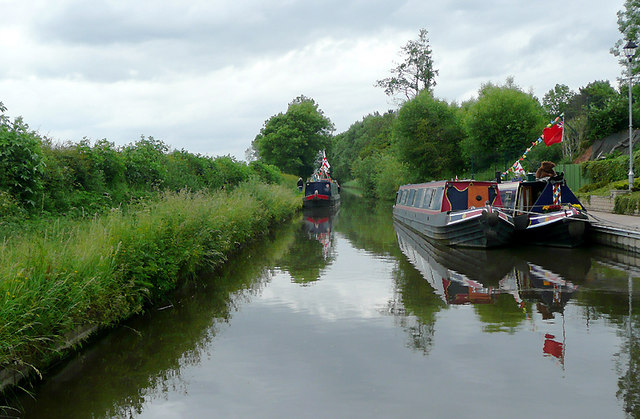 Staffordshire and Worcestershire Canal near Wildwood, Stafford
