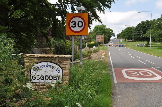 Osgodby village sign