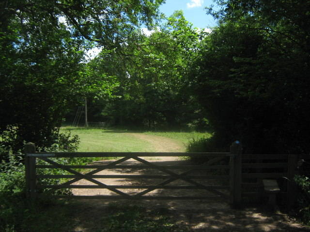 Bridle gate and stile near Cowden Burial Ground