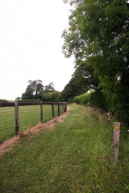 Footpath to Back Lane, Kettlebaston