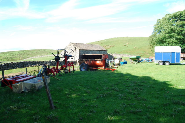 Machinery to run a modern livestock farm