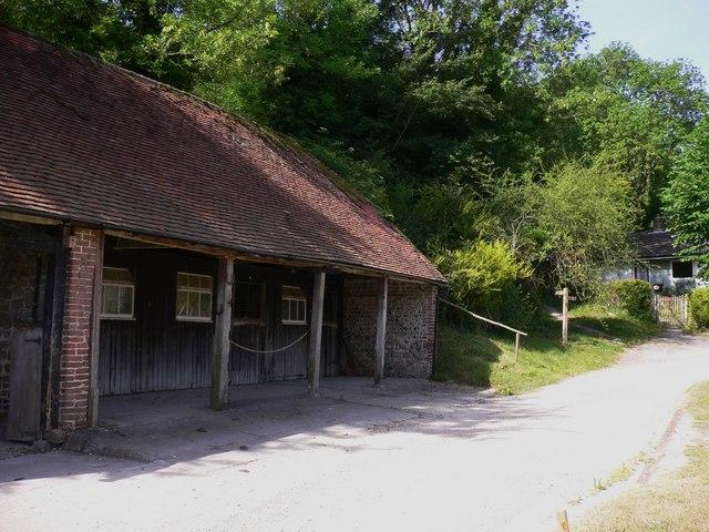 Outbuilding at Crypt Farm