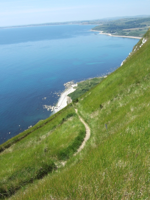 The smugglers' path at White Nothe