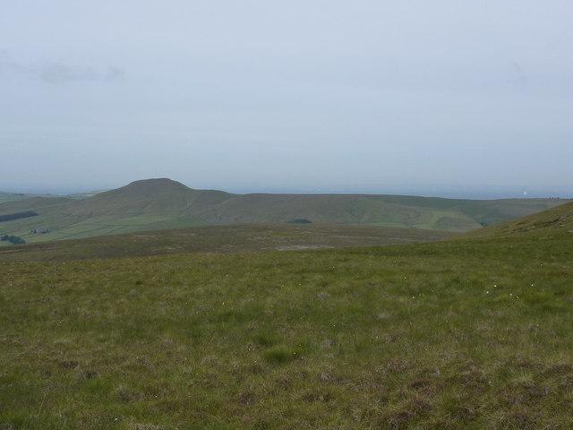 Moorland with Shutlingsloe