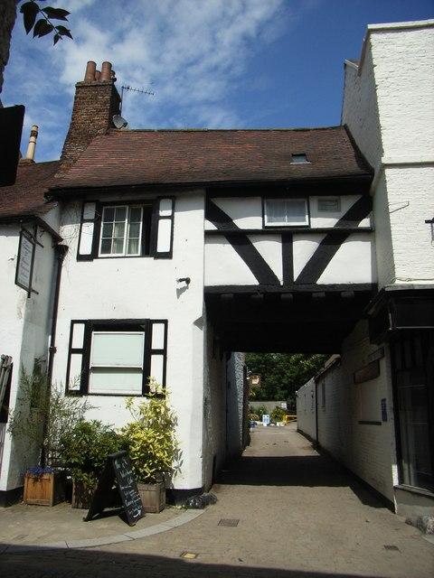 Passage Way to Court Terrace, Kirkgate, Ripon