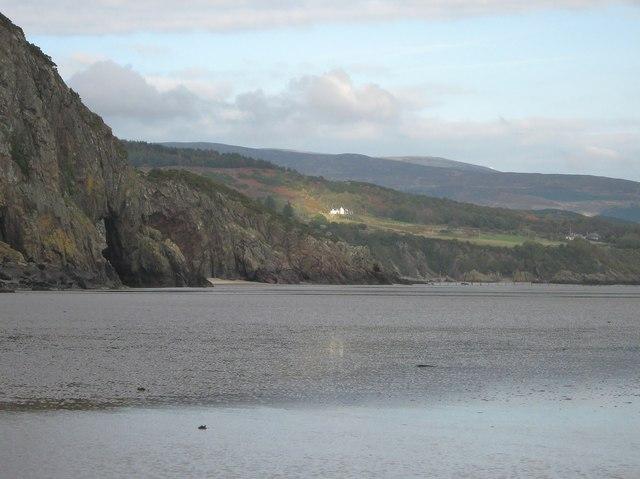 Looking towards Sandyhills Bay