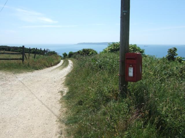 Postbox at Sea Barn Farm