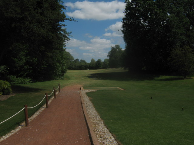 15th Tee in Sweetwoods Park Golf Course