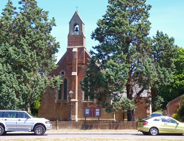 St Luke's Parish Church, Burton