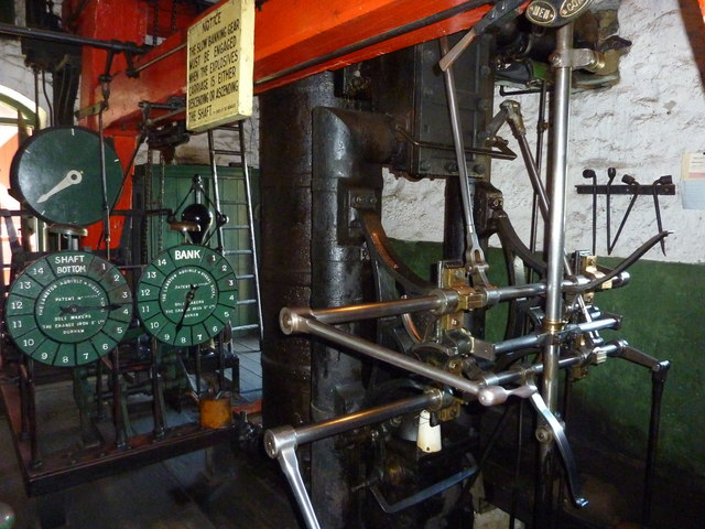 Steam winding engine, Beamish Open Air Museum