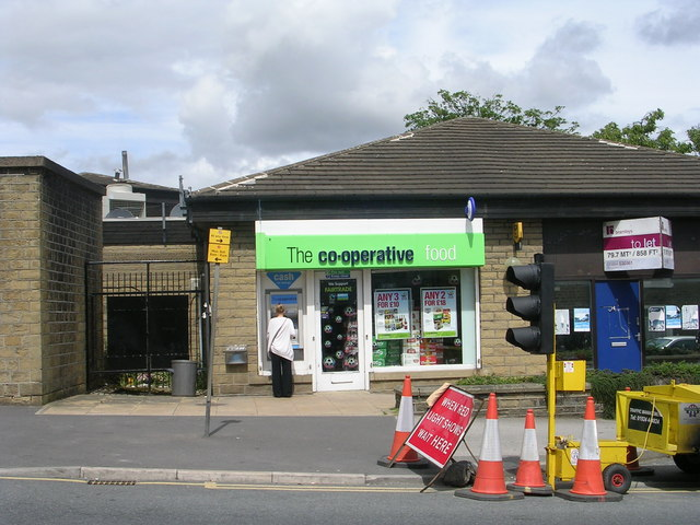 The co-operative food - Blackmoorfoot Road