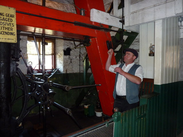 The 150 year old steam winding engine