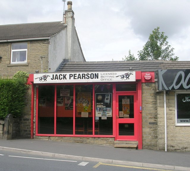 Jack Pearson Betting Office - Blackmoorfoot Road