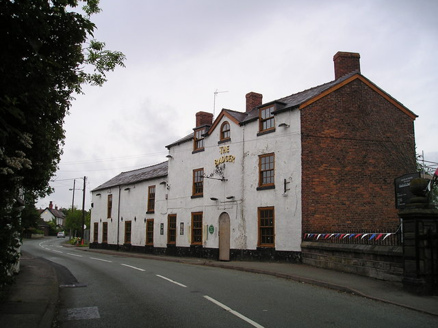 The Badger Pub, Church Minshull, Nantwich