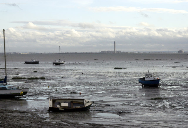 Estuarial mudflats, Leigh-on-Sea