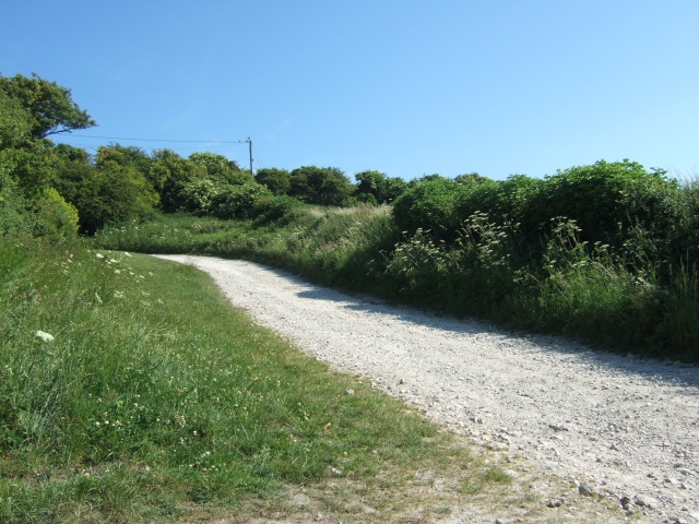 Footpath from East Chaldon to Daggers Gate