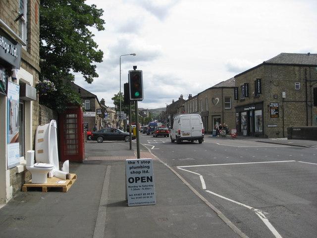 Glossop - Looking towards High Street East
