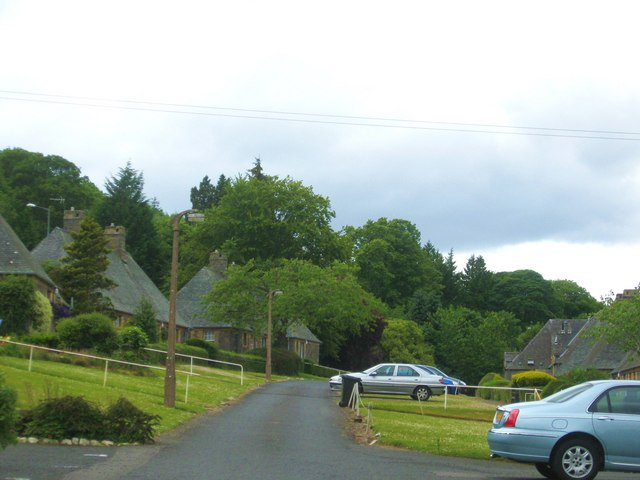 Lucy Sanderson Cottages in Galashiels