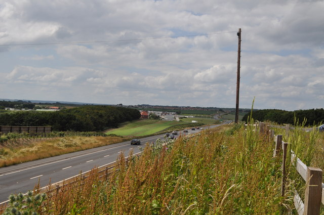 New A165 Cayton Bay bypass