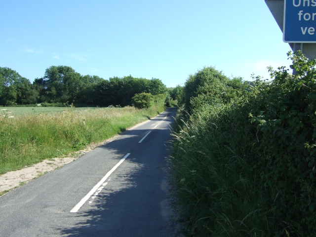 Road from A352 to East Chaldon