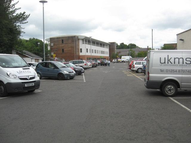High Street car park, Galashiels