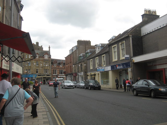 High Street, Galashiels